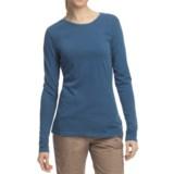 Pulp Crew Shirt - Cotton-Modal, Long Sleeve (For Women)