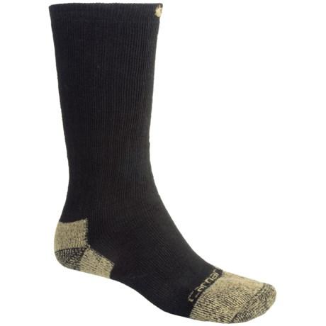 Carhartt Full Cushion Work Boot Socks - Cotton/Nylon, Crew (For Men)