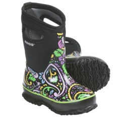 Bogs Footwear Classic High Tuscany Rain Boots - Waterproof (For Kid and Youth Girls)