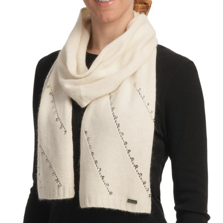 Betmar Madison Luxe Knit Scarf - Sequinned (For Women)