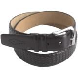 Mezlan Buffalo Leather Belt (For Men)