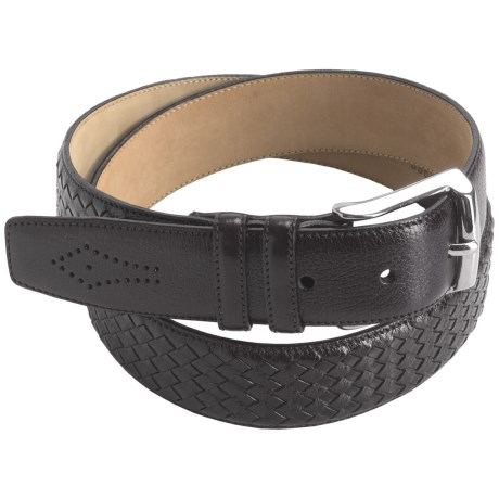 Mezlan Buffalo Leather Belt (For Men)