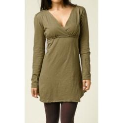 prAna Mikayla Empire Waist Dress - Organic Cotton, Long Sleeve (For Women)