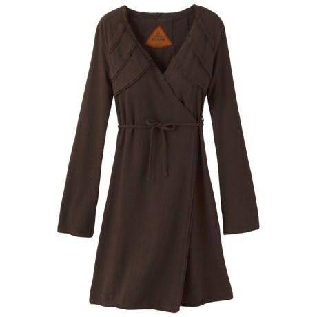 prAna Chantal Dress - Stretch Hemp-Cotton, Long Sleeve (For Women)