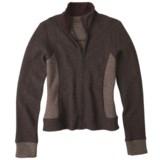 prAna Maura Jacket - Wool Blend, Full Zip (For Women)