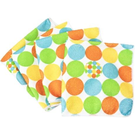 Clean House Microfiber Dishcloths - Set of 4