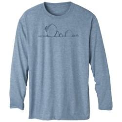 prAna Heathered High-Performance Shirt - Long Sleeve (For Men)