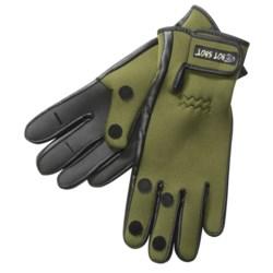Jacob Ash Hot Shot Foldback Fishing Gloves - Neoprene (For Men)
