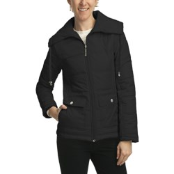 Weatherproof Quilted Packable Jacket - Zip Front (For Women)
