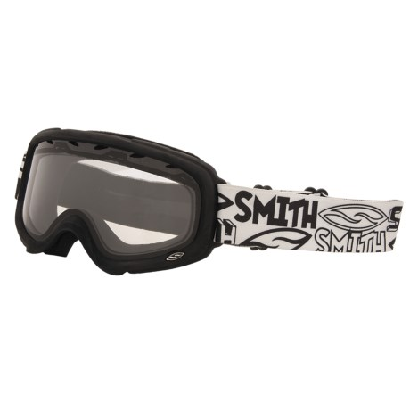 Smith Optics Gambler Air Snowsport Goggles - OTG (For Youth)