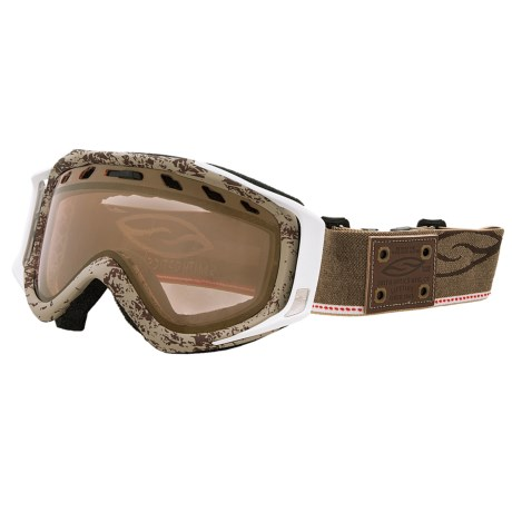 Smith Optics Stance Snowsport Goggles - Gold Sensor Mirror Lens