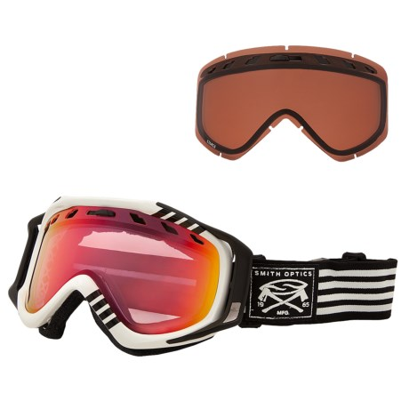 Smith Optics Stance Snowsport Goggles - Red Sensor Mirror Lens, Interchangeable Lens