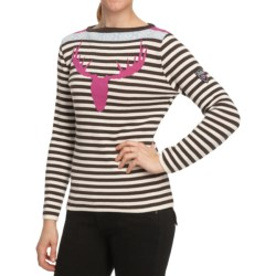 Dale of Norway Stag Head Sweater - Merino Wool (For Women)