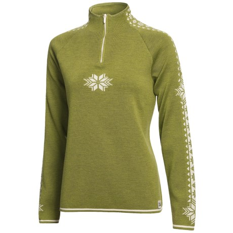 Dale of Norway Slaata Sweater - Merino Wool, Zip Neck (For Women)