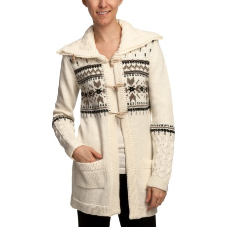 Dale of Norway Fram Long Cardigan Sweater (For Women)