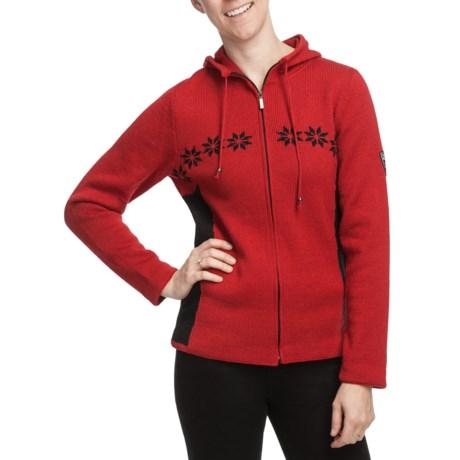 Dale of Norway Tromso Hooded Cardigan Sweater - Merino Wool, Full Zip (For Women)