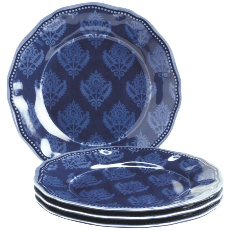 "Le Cadeaux Cambria 9"" Salad Plates - Set of 4"