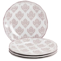 "Le Cadeaux Cambria 9"" Salad Plates - Set of 4"