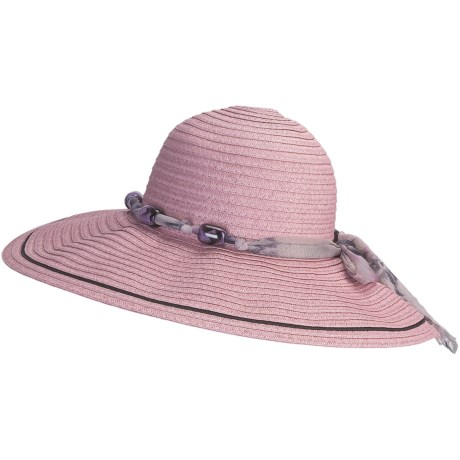 Caribbean Joe Swinger Hat - Crushable (For Women)