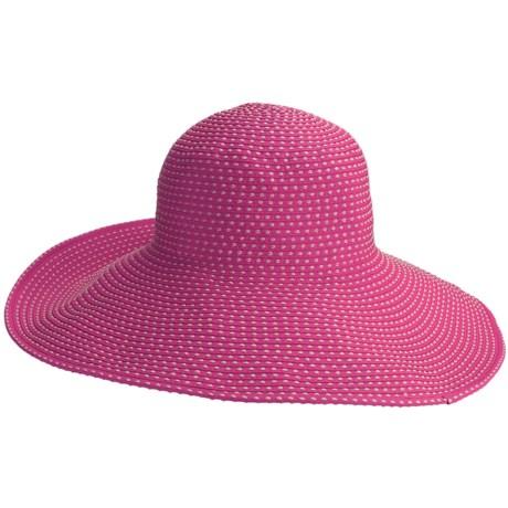 Caribbean Joe Sun Swinger Hat - Crushable, Grosgrain (For Women)