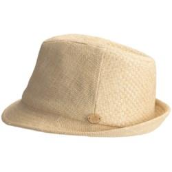 Caribbean Joe Woven Fedora Hat (For Men and Women)