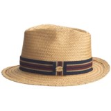 Caribbean Joe Weave Fedora Hat (For Men and Women)