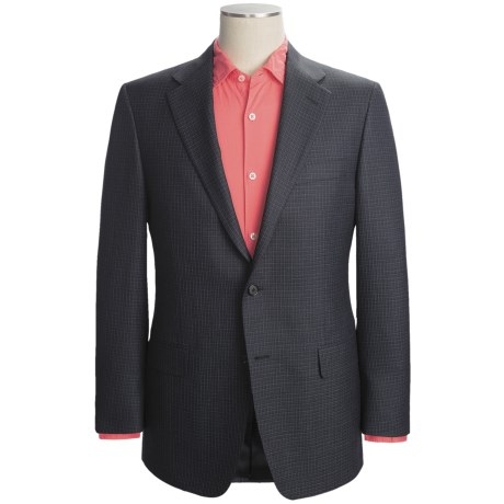 Hickey Freeman Check Sport Coat - Silk-Wool (For Men)