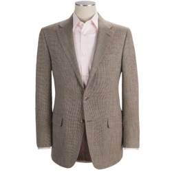 Hickey Freeman Tic Weave Sport Coat - Wool-Linen-Silk (For Men)
