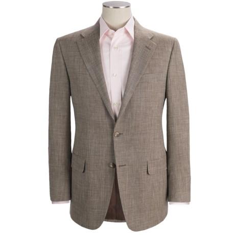 Hickey Freeman Tic Weave Sport Coat - Wool-Linen-Silk (For Men)
