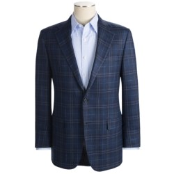 Hickey Freeman Windowpane Sport Coat - Wool-Silk-Linen (For Men)