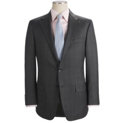 Hickey Freeman Pin Dot and Tonal Plaid Suit - Worsted Wool (For Men)