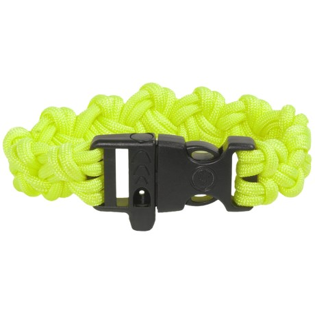 Ultimate Survival Technologies Para 550 Paracord Bracelet with Whistle
