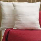 Ivy Hill Home Winslet Single-Needle Pillow Shams - Euro, Quilted Cotton, Pair