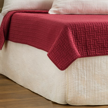 Ivy Hill Home Winslet Quilted Bed Skirt - Twin