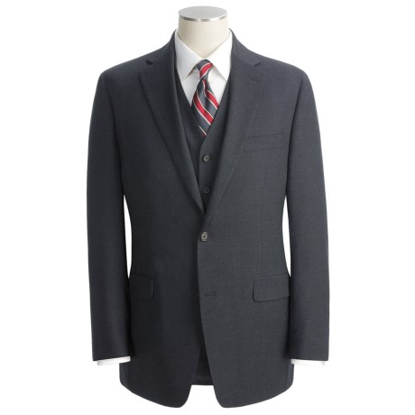 Lauren by Ralph Lauren Solid 3-Season Suit with Vest - 3-Piece (For Men)
