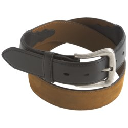 Nocona Leather Western Belt (For Men)
