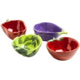 Certified International Veggie Bowls - Set of 4, Ceramic
