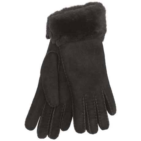 Grandoe Cire by  Natasha Shearling Gloves (For Women)