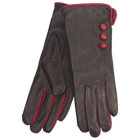Cire by Grandoe Phoebe Sheepskin Gloves (For Women)