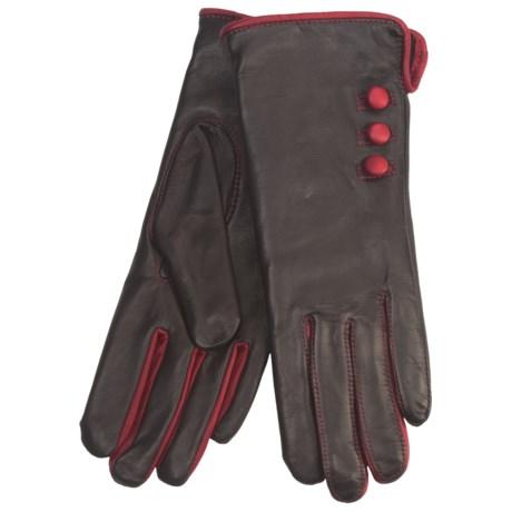 Grandoe Cire by  Phoebe Sheepskin Gloves (For Women)
