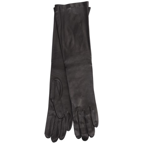 Grandoe Cire by  Beauty Sheepskin Gloves - Silk Lining (For Women)