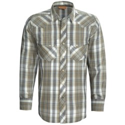 Ariat Pace Plaid Snap Front Shirt - Long Sleeve (For Men)