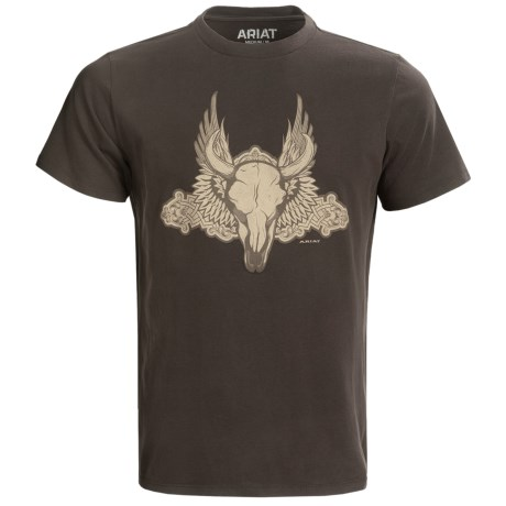 Ariat Skull T-Shirt - Short Sleeve (For Men)