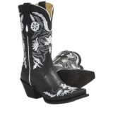 Tony Lama Vaquero Vail Cowboy Boots - Leather, V-Toe (For Women)