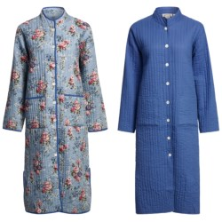 Orvis Quilted Cotton Robe - Reversible (For Women)