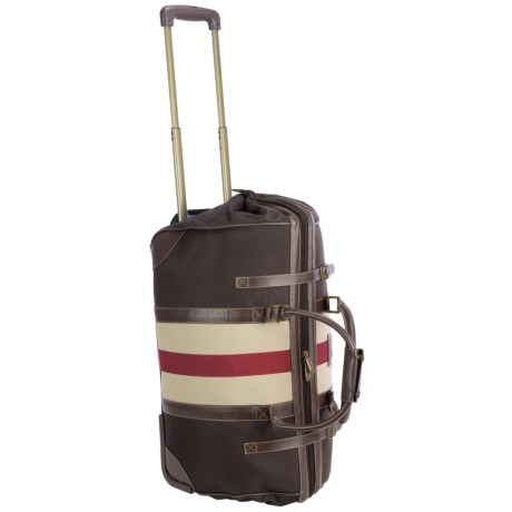"Tommy Hilfiger Fieldhouse Rolling Duffel Bag - 22"""