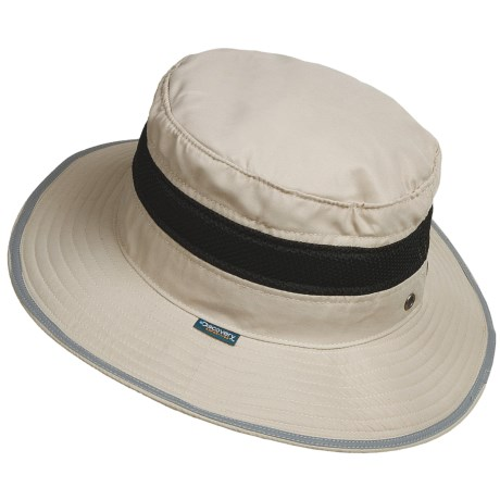 Dorfman Pacific Headwear Discovery Expedition Boonie Hat - Sun Shield, Bug Screen (For Men and Women)