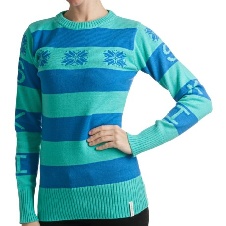 Obermeyer Eskimo Kisses Sweater - Jacquard Knit (For Women)