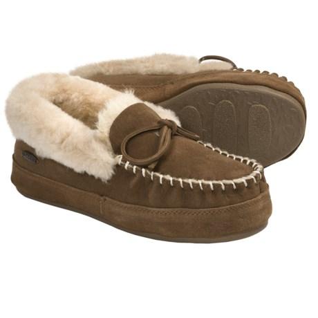 Acorn Cottage Moc Slippers - Sheepskin (For Women)