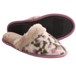 Acorn Fiona Scuff Slippers - Italian Wool-Blend (For Women)